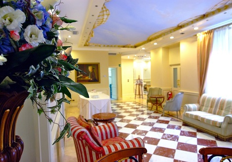 hall Hotel Andreola Central Milano