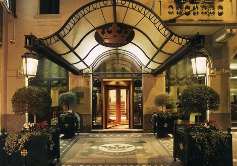 Ingresso Hotel Andreola Central Milano