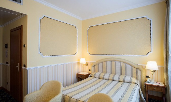 CAMERA SINGOLA KING SIZE Hotel Andreola Central Milano
